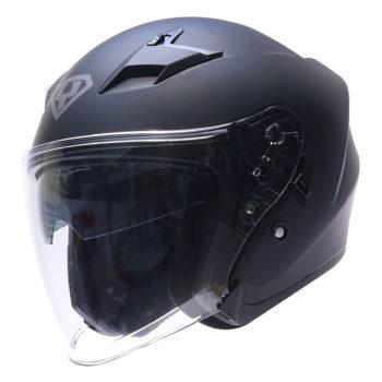 Mũ bảo hiểm 3/4 Yohe 878 2 kính màu đen