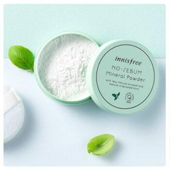 Phấn phủ kiềm dầu Innisfree No Sebum Mineral Color Powder