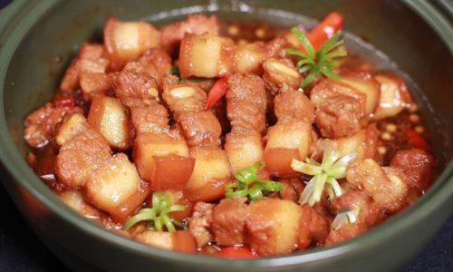 """Cách làm thịt kho tiêu """"hao"""" cơm cho cả nhà"""