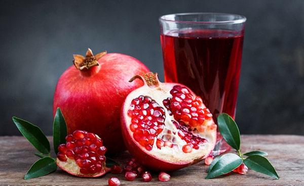 Lựu là trái cây giảm cân hiệu quả.