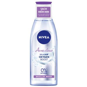 Nước tẩy trang Nivea Acne Care Make Up Clear Micellar Water