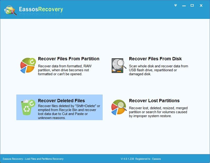Phần mềm Eassos Recovery giúp khôi phục dữ liệu USB nhanh chóng