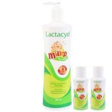 Sữa tắm gội Lactacyd Milky