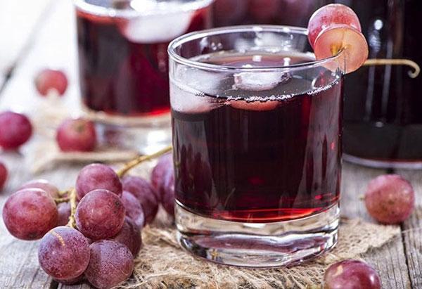 Thành phẩm rượu nho tự làm tốt cho sức khỏe
