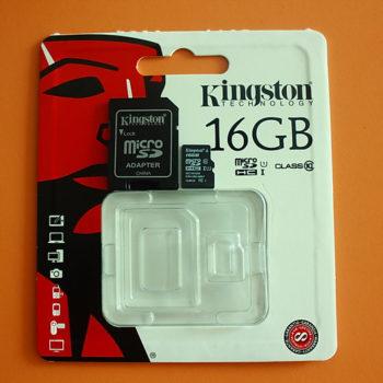 Thẻ nhớ Micro SDHC Kingston Class 10 UHS-SDC10G2/16GBFR