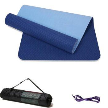 Thảm tập yoga TPE – Đại Nam Sport 2 lớp 8 mm