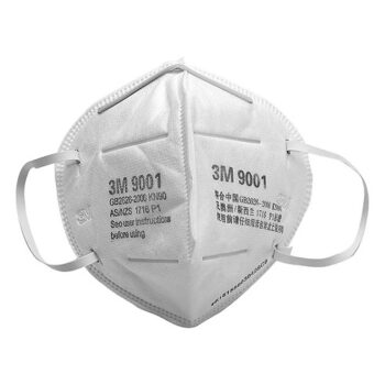 Khẩu trang chống bụi 3M 9001 trắng lọc bụi PM2.5 siêu mịn
