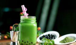 Trà sữa Thái xanh giải khát cho mùa hè