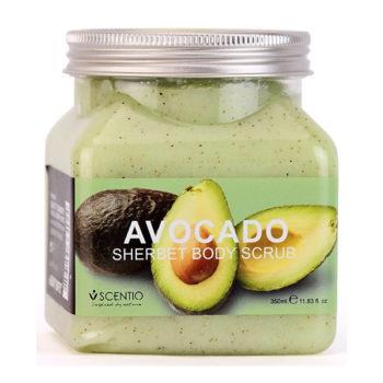 Tẩy tế bào chết toàn thân dưỡng ẩm làm sáng và chống lão hoá da Scentio Avocado