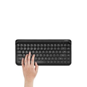 Bàn phím không dây bluetooth 3.0 thiết kế Mini Retro