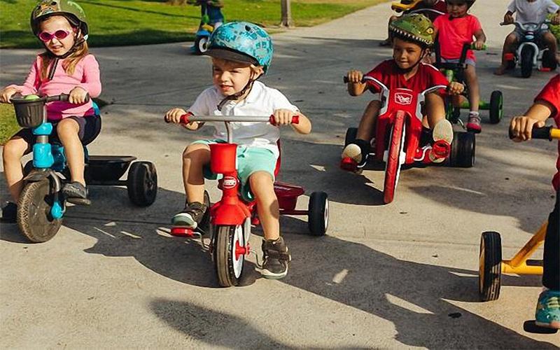 Xe đạp trẻ em 3 bánh