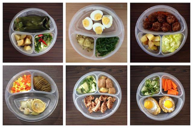 Bí quyết giảm cân bằng thực đơn ăn uống khoa học