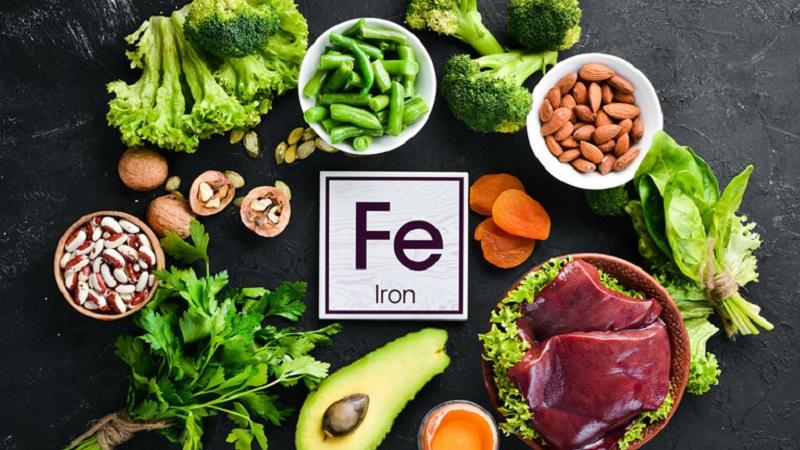 Bổ sung các loại thực phẩm chứa nhiều sắt