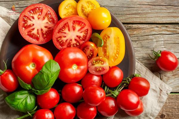 Cà chua giúp làm trắng da hiệu quả