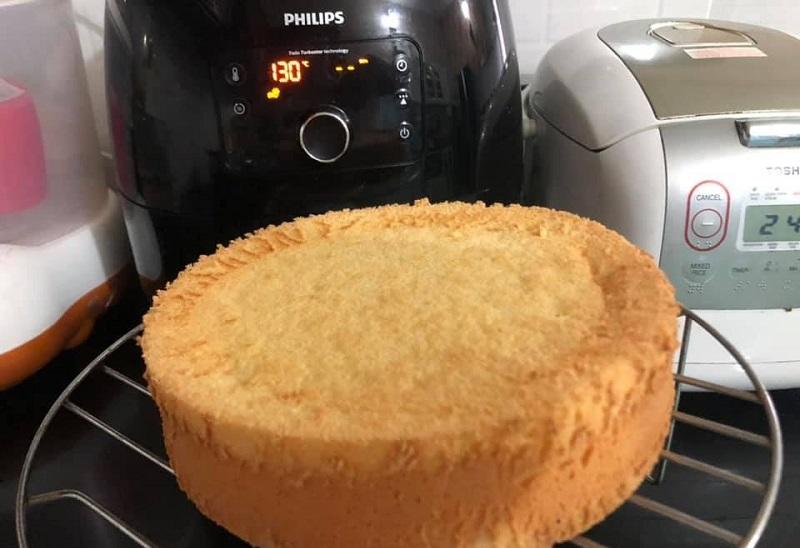 Cách nướng bánh bằng nồi chiên không dầu
