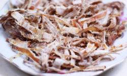 Cách nướng mực bằng lò vi sóng đối với mực khô