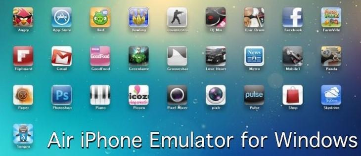 Cài đặt trình giả lập iOS Air iPhone Emulator
