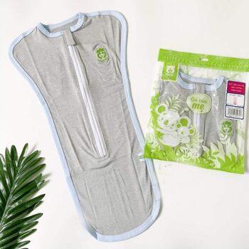 Túi ngủ kéo khóa 2 chiều siêu co dãn Mipbi
