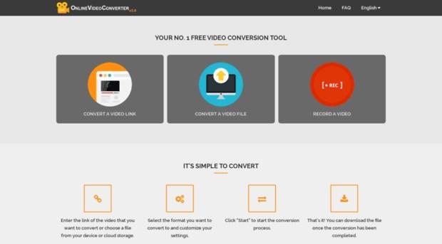 Chuyển youtube sang mp3 với Onlinevideoconverter