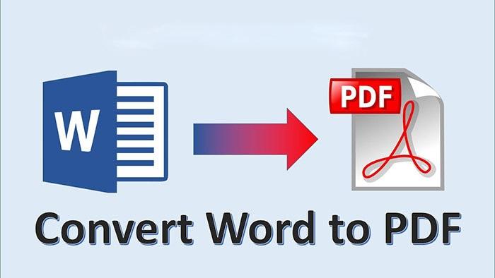 Chuyển word sang pdf đơn giản nhanh chóng