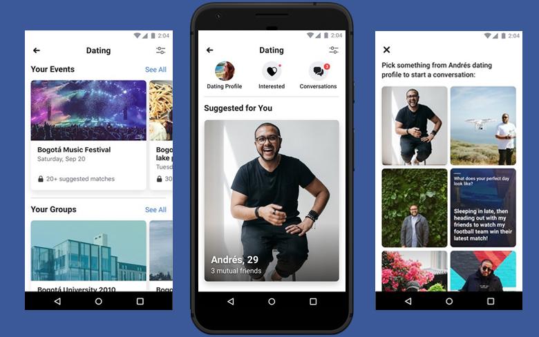 Bạn dễ dàng tìm thấy người cùng sở thích tại Facebook dating