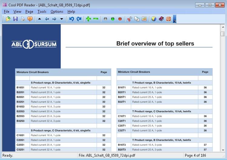 Đọc file PDF với phần mềm Cool PDF Reader