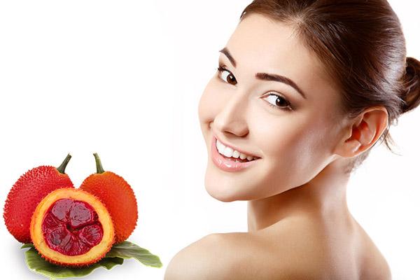Dưỡng da bằng dầu gấc giúp làn da khỏe đẹp hơn