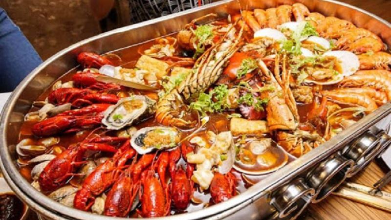 Hải sản là thực phẩm cung cấp sắt dồi dào