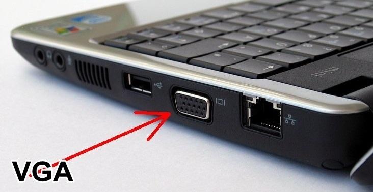 Kết nối laptop với tivi bằng cổng VGA