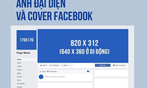 Kích thước ảnh bìa Facebook bao nhiêu?