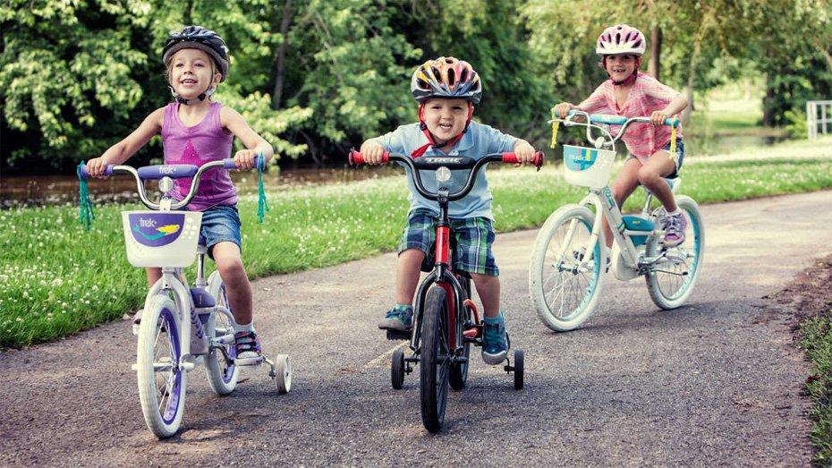 Lợi ích khi sử dụng xe đạp trẻ em cho bé