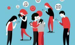 Mạng xã hội mang đến nhiều tác hại cho giới trẻ