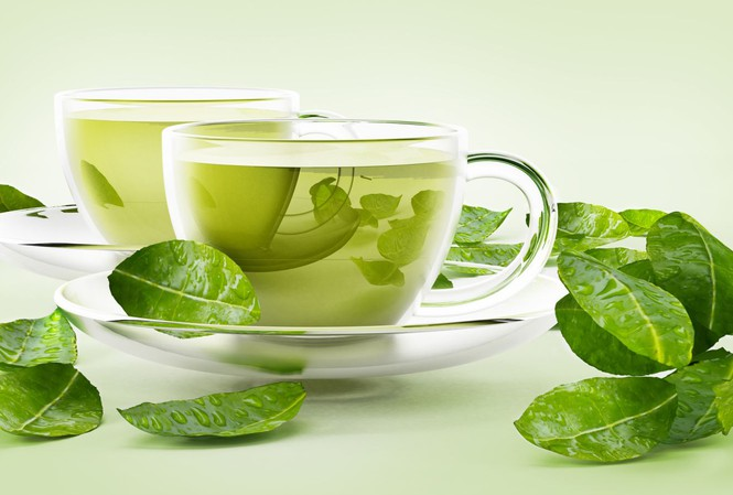 Nước detox trà xanh giảm mỡ bụng hiệu quả nhất