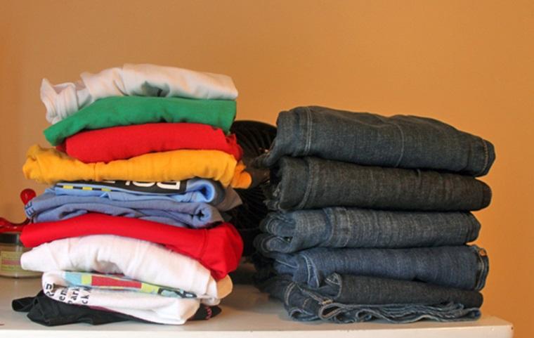 Phân loại chất liệu quần áo khi giặt máy