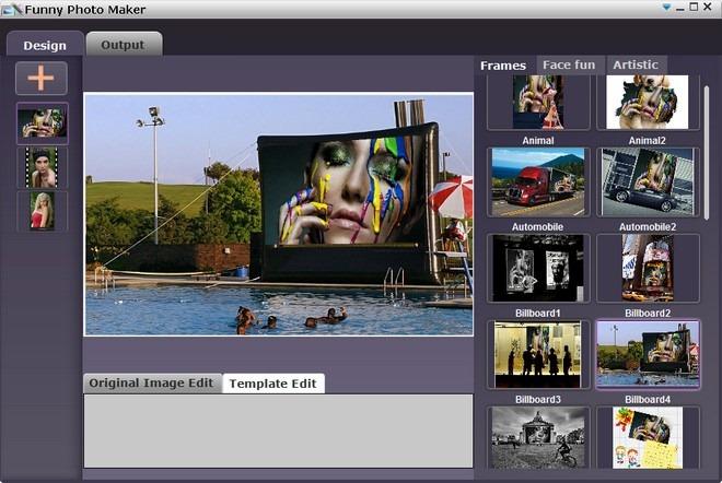 Phần mềm ghép ảnh Funny Photo Maker