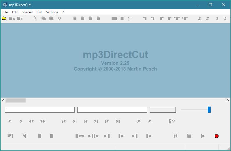 Phần mềm cắt ghép nhạc X3 Direct Cut