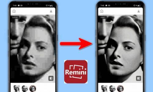 Remini: Phần mềm làm nét ảnh bằng AI