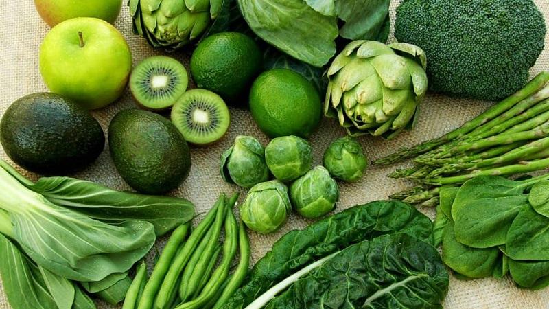 Rau xanh cung cấp nhiều sắt nonheme