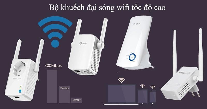 Sử dụng bộ kích sóng Wifi