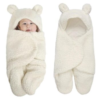 Túi ngủ lông cừu cho bé