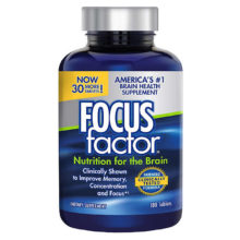 Thực phẩm bổ sung viên uống bổ Não – Focus Factor