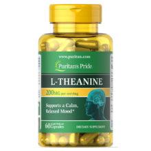 Viên uống bổ não Puritan's Pride L-Theanine