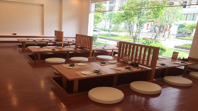 Các cửa hàng của Tokyo Deli được thiết kế theo phong cách truyền thống Nhật Bản