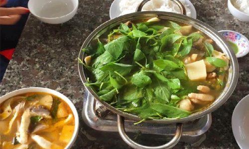 Cách nấu lẩu gà lá é ngon đúng chuẩn Đà Lạt