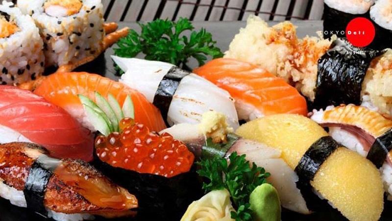 Tokyo Deli có thực đơn vô cùng phong phú với hơn 20 món ăn tươi ngon bổ dưỡng