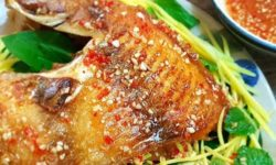 Cách làm cá diêu hồng chiên xù cùng 2 loại mắm chấm ngon tuyệt 1