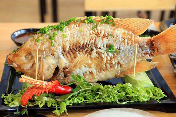 Cách làm cá diêu hồng chiên xù cùng 2 loại mắm chấm ngon tuyệt 6