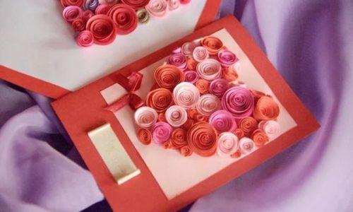 Hoa hồng giấy dễ làm để tặng người thân bạn bè