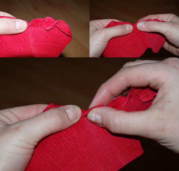 Cách làm hoa hồng giấy vặn xoắn