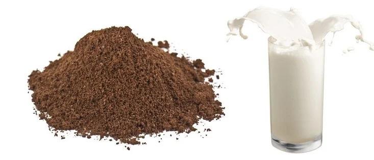 Cách làm trắng da tay với bã cà phê và sữa tươi không đường